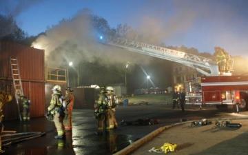 2016 Live Burn Building