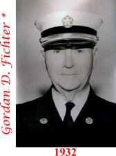 Gordan D. Fichter 1932