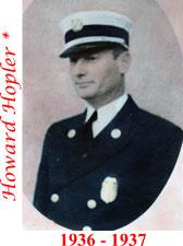 Howard Hopler 1936 - 1937