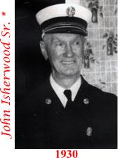 John Isherwood Sr. 1930