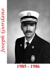 Joseph Giordano (1985 - 1986)