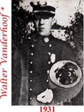 Walter Vanderhoof 1931