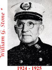 William G. Stone 1924 - 1925
