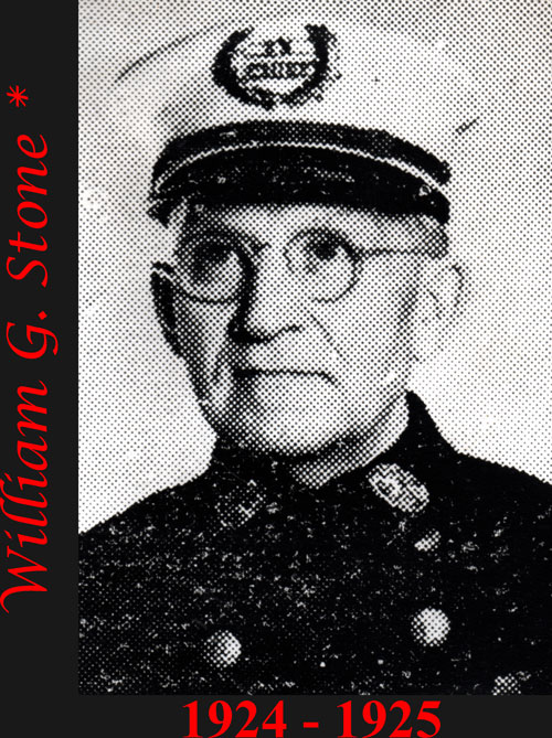 William G. Stone 1924 - 1925